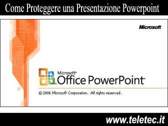 Come Proteggere con Password una Presentazione Powerpoint