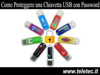 Come Proteggere una Chiavetta USB con Password