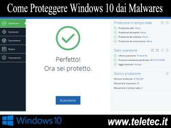 Come Proteggere Windows 10 dai Malwares
