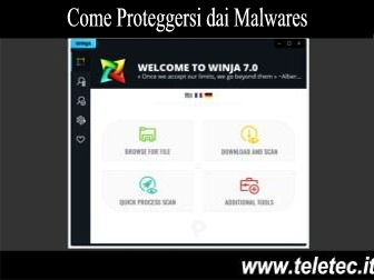Come Proteggersi dai Malwares con Windows - Winja