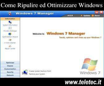 Come Pulire ed Ottimizzare Windows