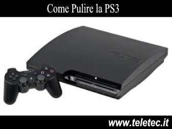 Come Pulire la PS3 Slim