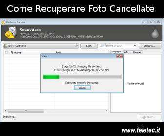 Come Recuperare Foto e Files Cancellati per Sbaglio