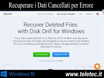 Come Recuperare i Dati Cancellati per Errore su Windows 10