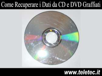 Come Recuperare i Dati da CD e DVD Graffiati