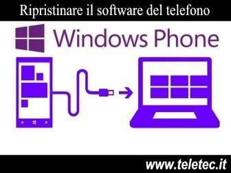 Come Recuperare il Software dei cellulari con Windows Phone