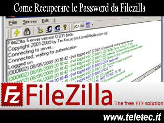 Come Recuperare le Password da Filezilla