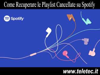 Come Recuperare le Playlist Cancellate su Spotify