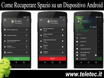 Come Recuperare Spazio su un Dispositivo Android - SD Maid
