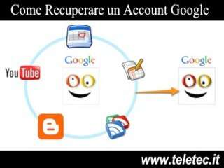 Come Recuperare un Account Google