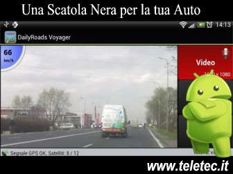 Come Registrare a Video un Viaggio in Auto con Android