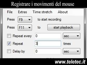 Come Registrare i Movimenti del Mouse