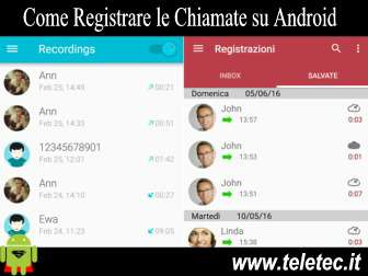 Come Registrare le Chiamate su Android