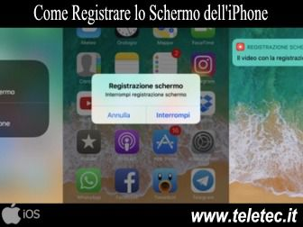 Come Registrare lo Schermo su iPhone