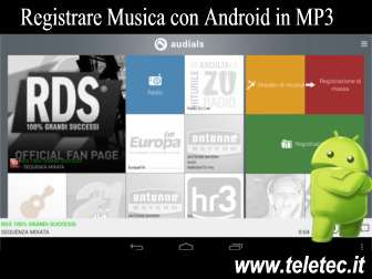 Come Registrare Musica con Android in MP3
