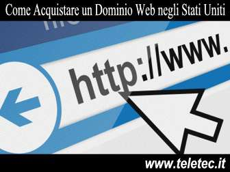 Come Registrare un Dominio Web negli Stati Uniti