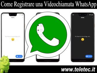 Come Registrare una Videochiamata su WhatsApp con Android - MNML Screen Recorder