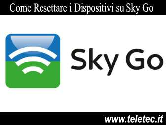 Come Resettare i Dispositivi su Sky Go