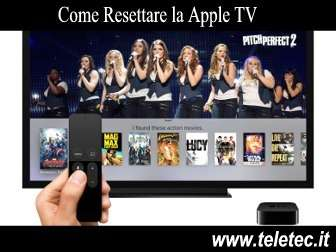 Come Resettare la Apple TV