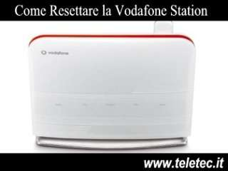 Come Resettare la Vodafone Station
