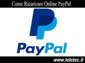 Come Ricaricare Online PayPal