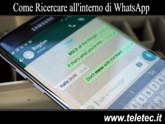 Come Ricercare Parole e Frasi all'Interno di WhatsApp
