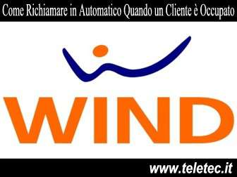 Come Richiamare in Automatico con Wind quando un Numero è Occupato