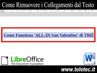 Come Rimuovere i Collegamenti in Word di Microsoft Office e LibreOffice