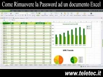 Come Rimuovere la Password ad un documento Excel