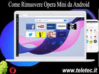 Come Rimuovere Opera Mini da Android