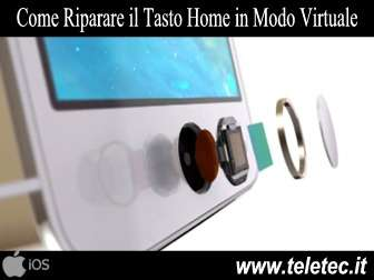 Come Riparare il Tasto Home dell'iPhone in Modo Virtuale