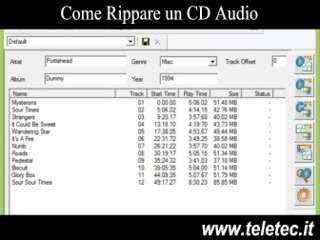 Come Rippare un Cd Audio