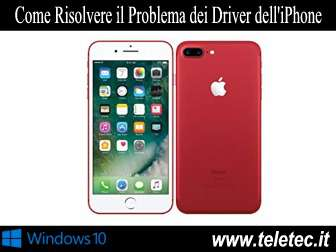 Come Risolvere il Problema dei Driver dell'iPhone su Windows 10