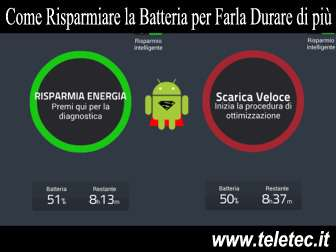 Come risparmiare energia e fare durare di pi la batteria su android  battery doctor