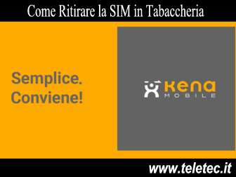 Come Ritirare la SIM Kena Mobile in Tabaccheria