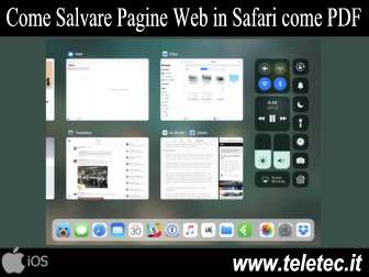 Come Salvare su iOS 11 Pagine Web di Safari come File PDF