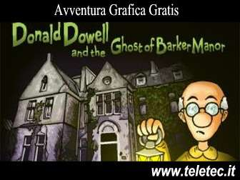 Come Scaricare e Giocare a Donald Dowell and the Ghost of Barker Manor - Avventura Grafica Gratis