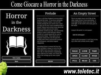 Come Scaricare e Giocare a Horror in the Darkness per Android