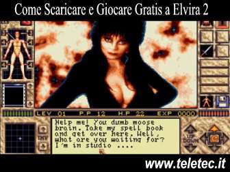 Come Scaricare e Giocare Gratis a Elvira 2 - The Jaws of Cerberus