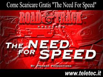 Come scaricare e giocare gratis a the need for speed