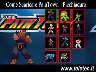 Come Scaricare PainTown - Progetto Amatoriale