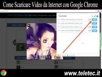 Come Scaricare Video da Internet con Google Chrome - Flash Video Downloader