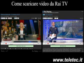 Come Scaricare Video da Rai TV