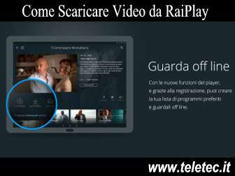 Come Scaricare Video da RaiPlay