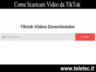 Come Scaricare Video da TikTok - Titktok Video Download