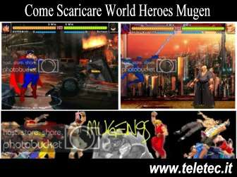 Come Scaricare World Heroes Mugen - Progetto Amatoriale