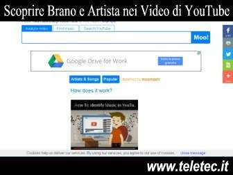 Come scoprire il brano e lartista allinterno dei video di youtube