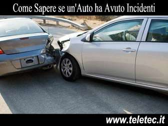 Come Scoprire se un'Auto ha Avuto Incidenti