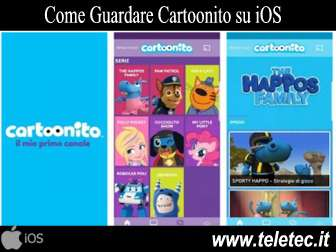 Come Seguire Cartoonito su iOS
