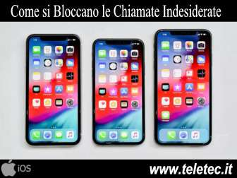 Come si Bloccano le Chiamate Indesiderate su iPhone